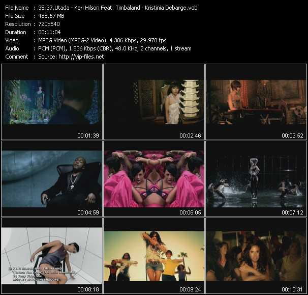 Utada - Keri Hilson Feat. Timbaland - Kristinia Debarge video screenshot