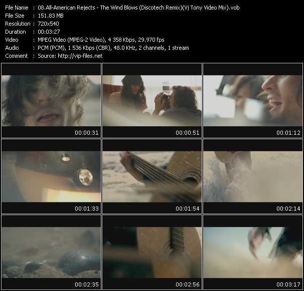 video The Wind Blows (Discotech Remix) (Vj Tony Video Mix) screen