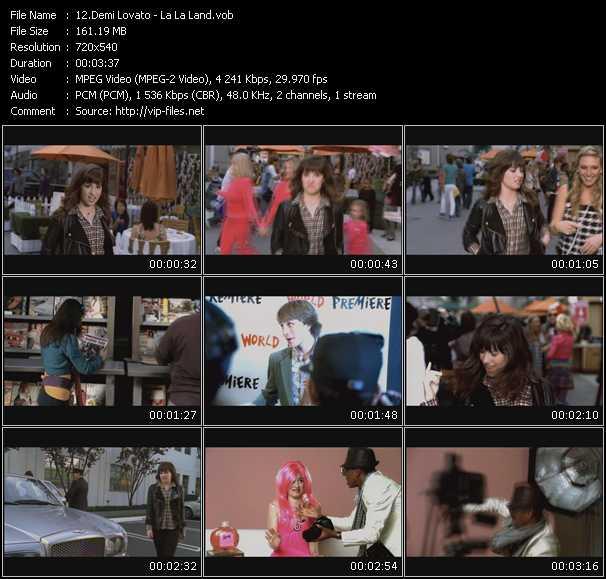 video La La Land screen