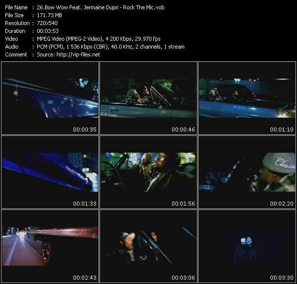 Bow Wow Feat. Jermaine Dupri video screenshot