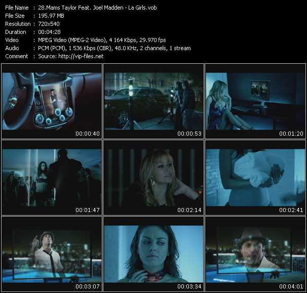 video La Girls screen