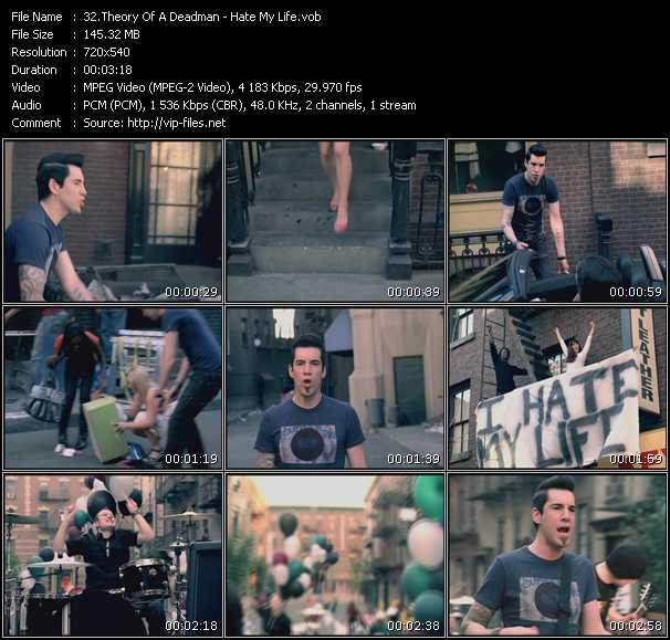 Theory Of A Deadman video screenshot