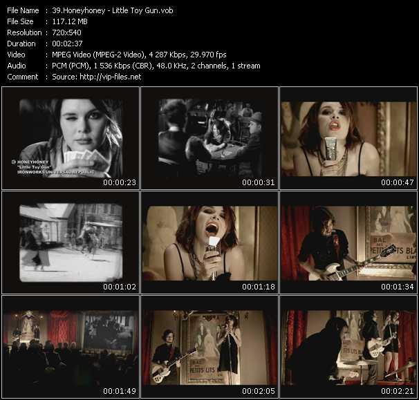 Honeyhoney video screenshot
