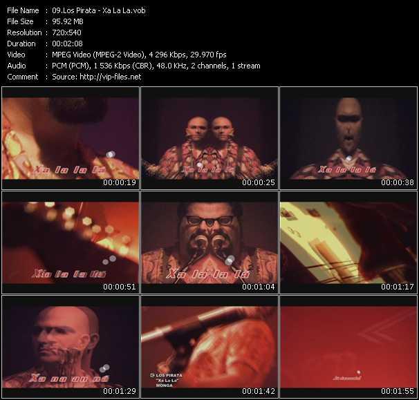 Los Pirata video screenshot