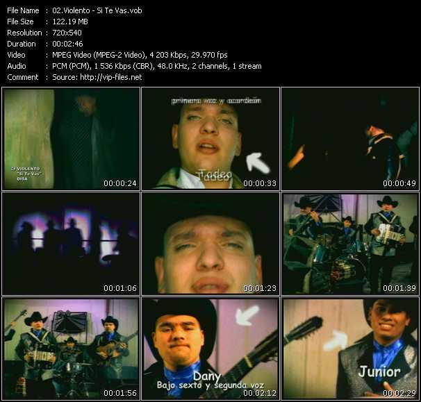 Violento video screenshot