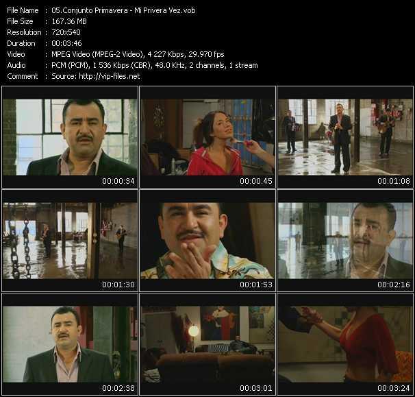 Conjunto Primavera video screenshot