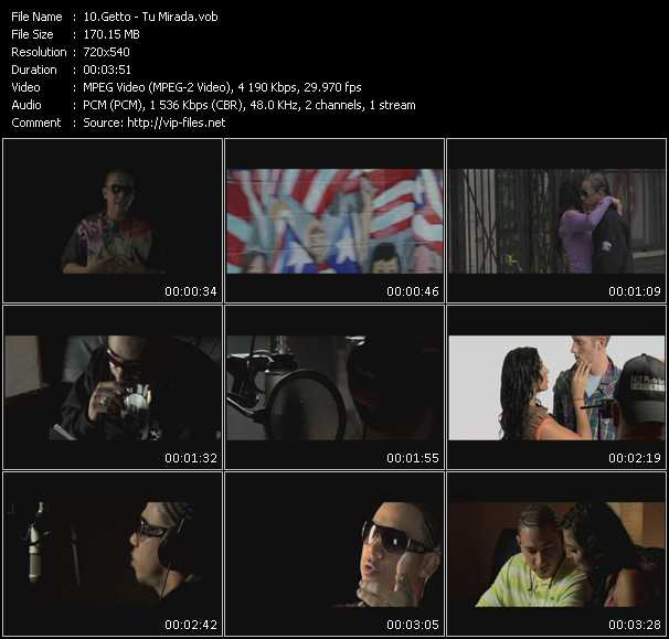 Getto video screenshot