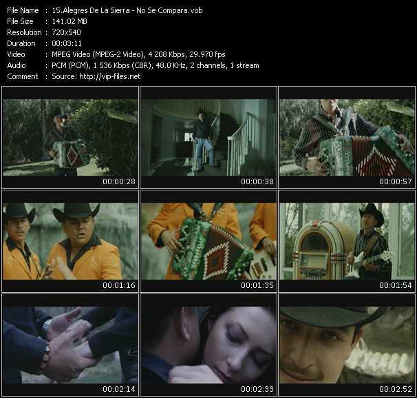 Alegres De La Sierra video screenshot