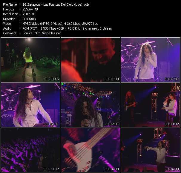 Saratoga video screenshot