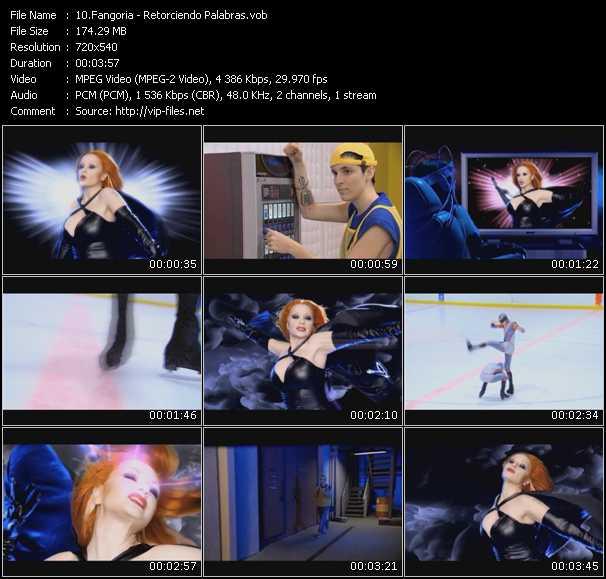 video Retorciendo Palabras screen