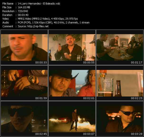 Larry Hernandez video screenshot