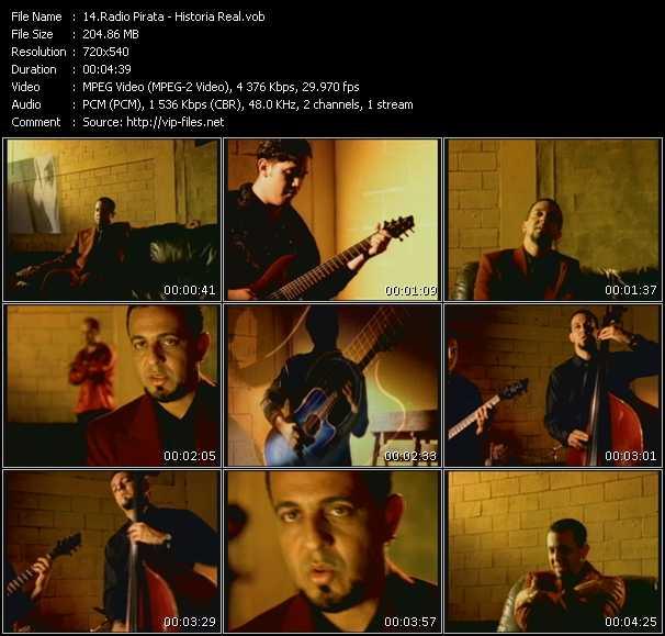 Radio Pirata video screenshot