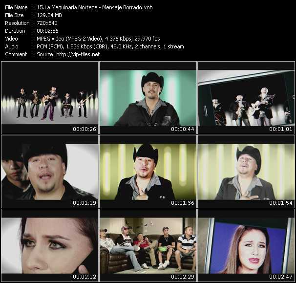 La Maquinaria Nortena video screenshot
