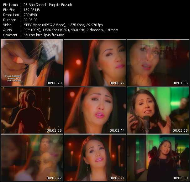 Ana Gabriel video screenshot