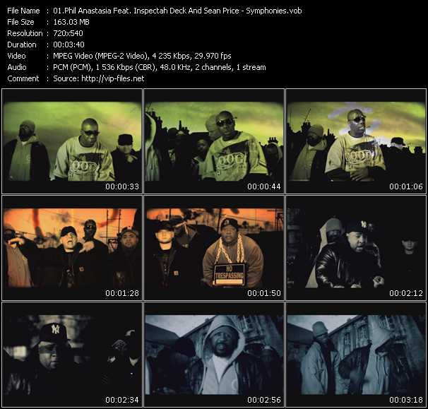 Phil Anastasia Feat. Inspectah Deck And Sean Price video screenshot