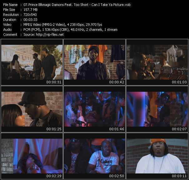 Prince Blkmagic Damons Feat. Too Short video screenshot
