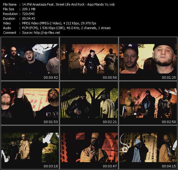 Phil Anastasia Feat. Street Life And Rock video screenshot