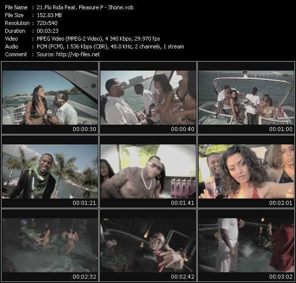 Flo Rida Feat. Pleasure P video screenshot