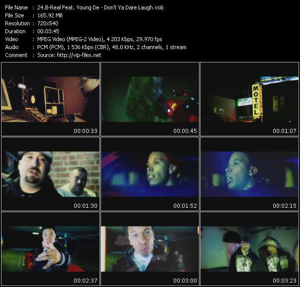 B-Real Feat. Young De video screenshot