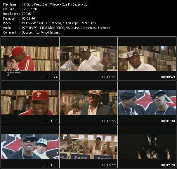 Guru Feat. Slum Village video screenshot