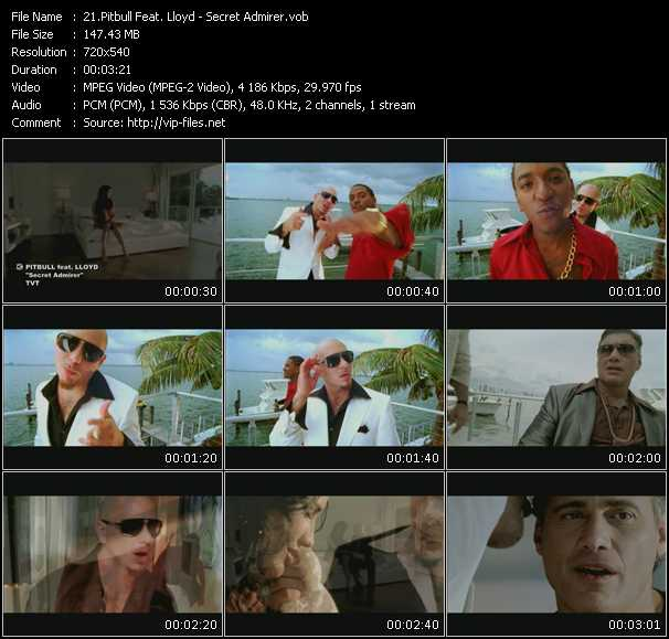 Pitbull Feat. Lloyd video screenshot