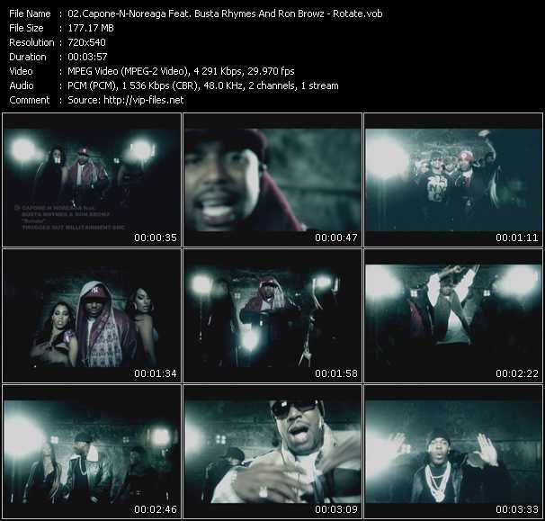 Capone-N-Noreaga Feat. Busta Rhymes And Ron Browz video screenshot