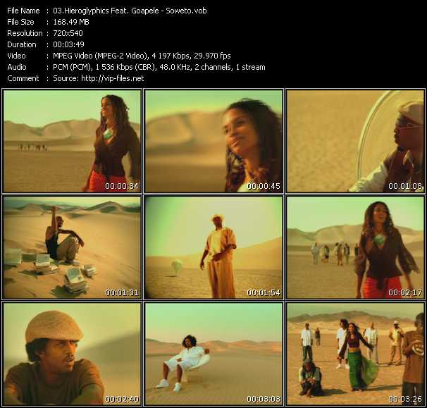 Hieroglyphics Feat. Goapele video screenshot
