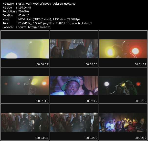 S. Fresh Feat. Lil' Boosie video screenshot