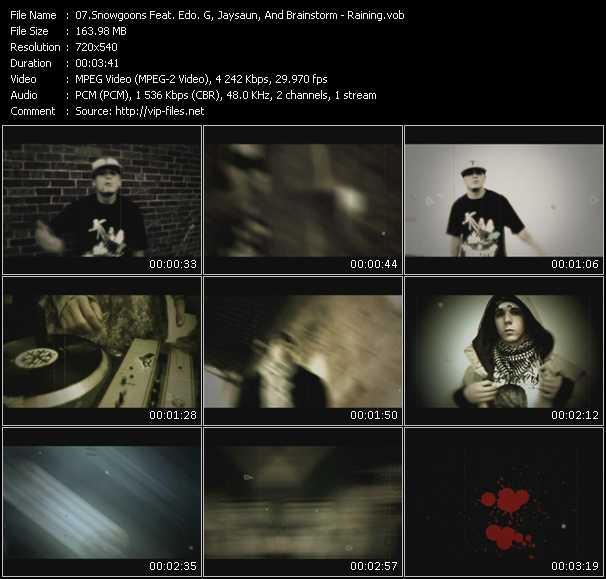 Snowgoons Feat. Edo G., Jaysaun, And Brainstorm video screenshot