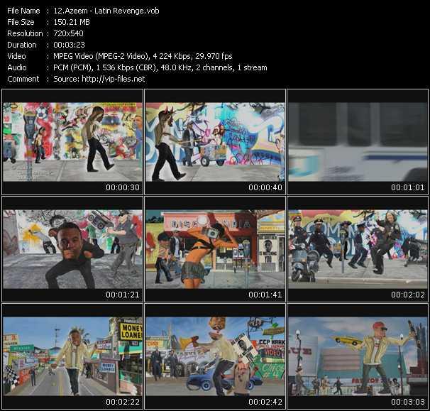 Azeem video screenshot