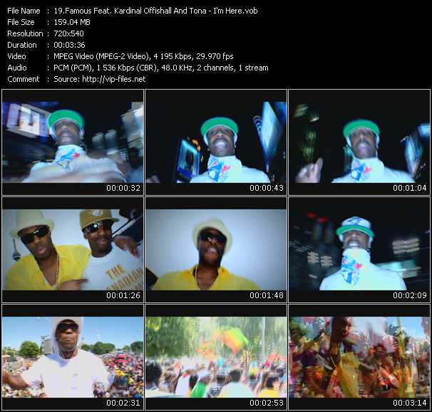 Famous Feat. Kardinal Offishall And Tona video screenshot