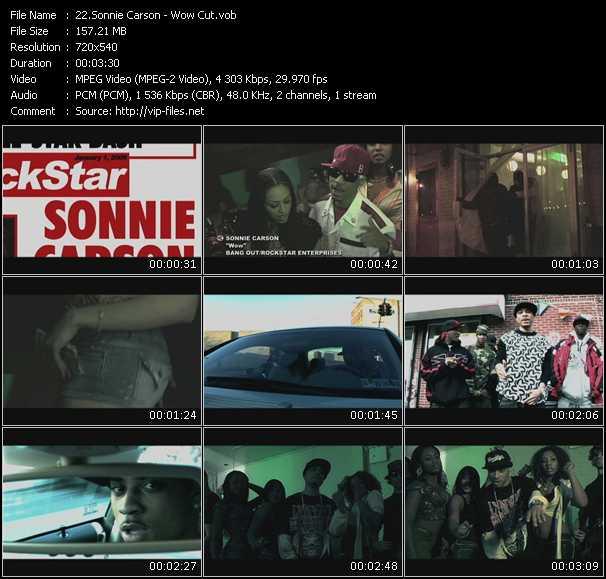 Sonnie Carson video screenshot