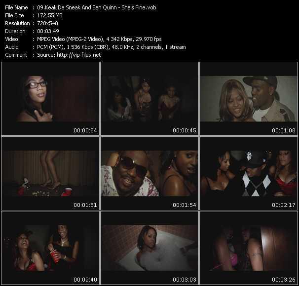 Keak Da Sneak And San Quinn video screenshot