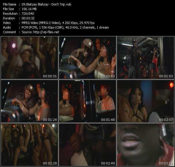 Blahzay Blahzay video screenshot