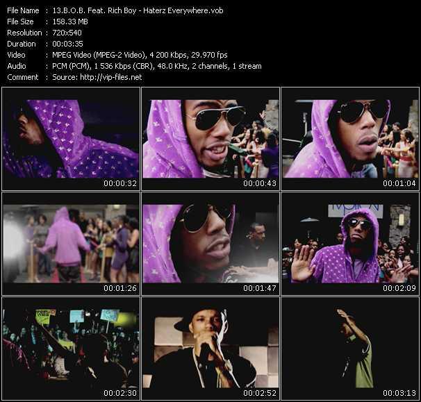 B.O.B. Feat. Rich Boy video screenshot