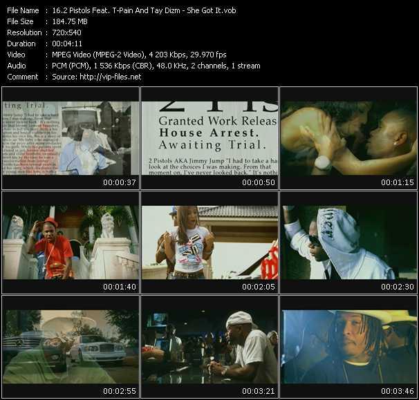 2 Pistols Feat. T-Pain And Tay Dizm video screenshot