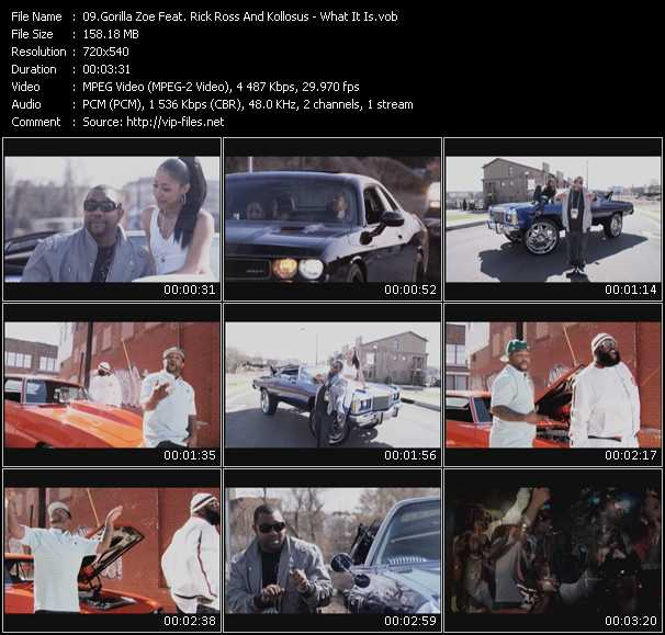 Gorilla Zoe Feat. Rick Ross And Kollosus video screenshot