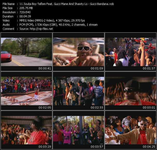 video Gucci Bandana screen