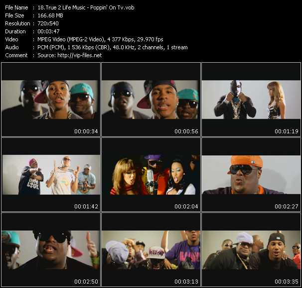 True 2 Life Music video screenshot