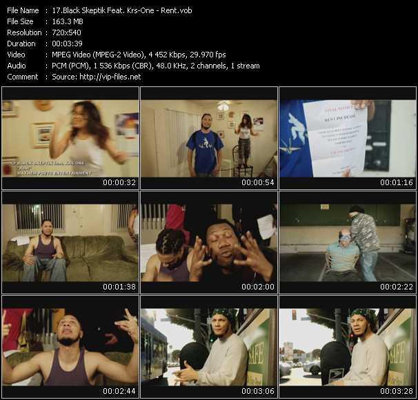 video Rent screen