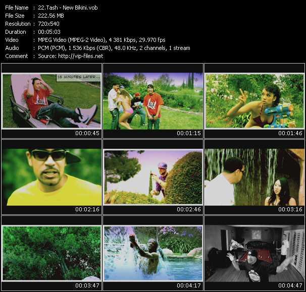 Tash video screenshot