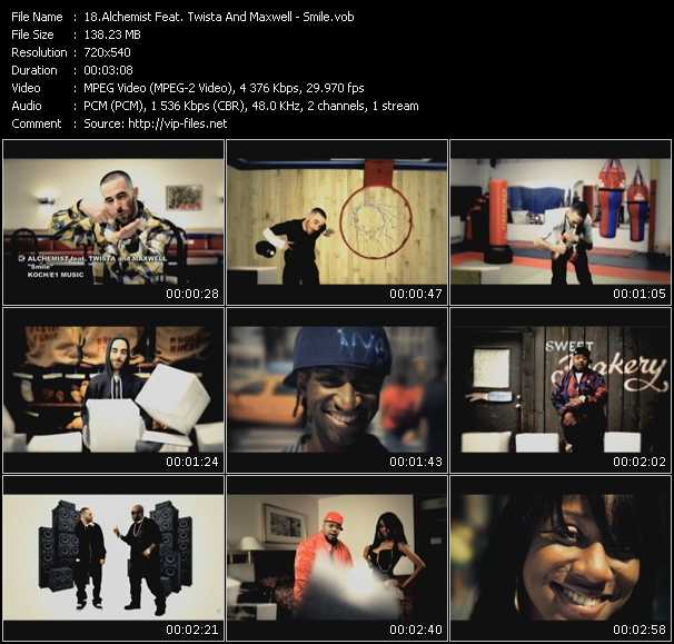 Alchemist Feat. Twista And Maxwell video screenshot