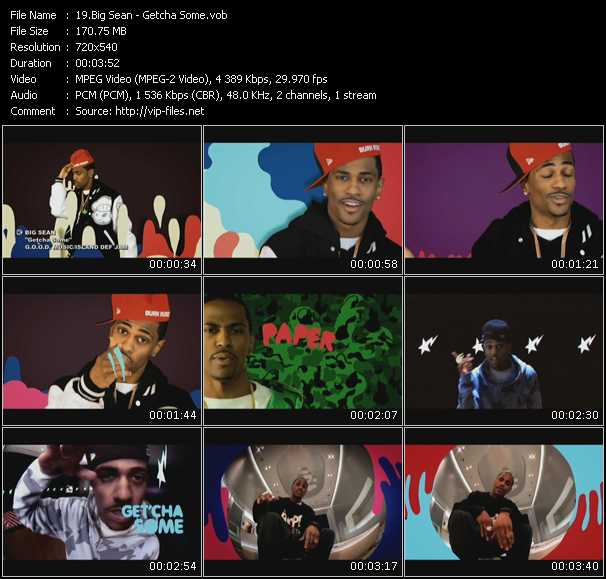 Big Sean video screenshot