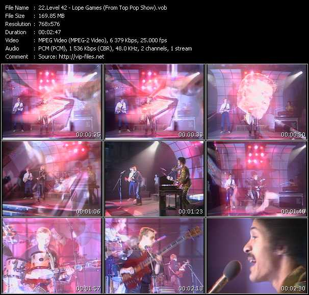 video Lope Games (From Top Pop Show) screen