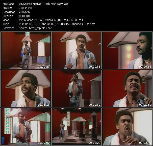 George Mccrae video screenshot