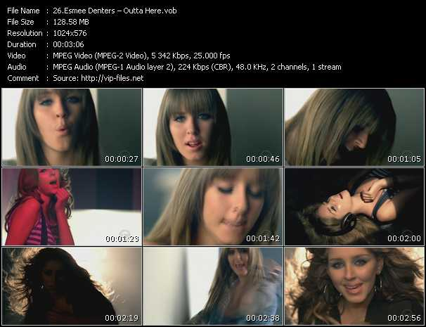 Esmee Denters video screenshot