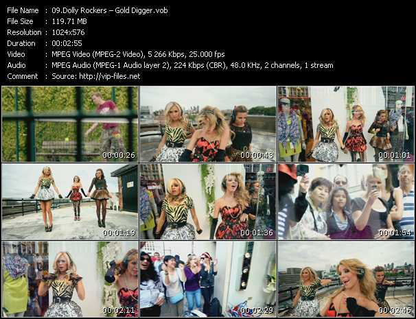 Dolly Rockers video screenshot