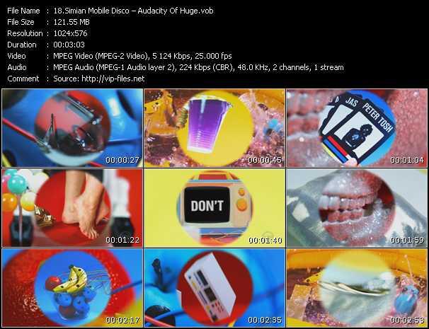 Simian Mobile Disco video screenshot