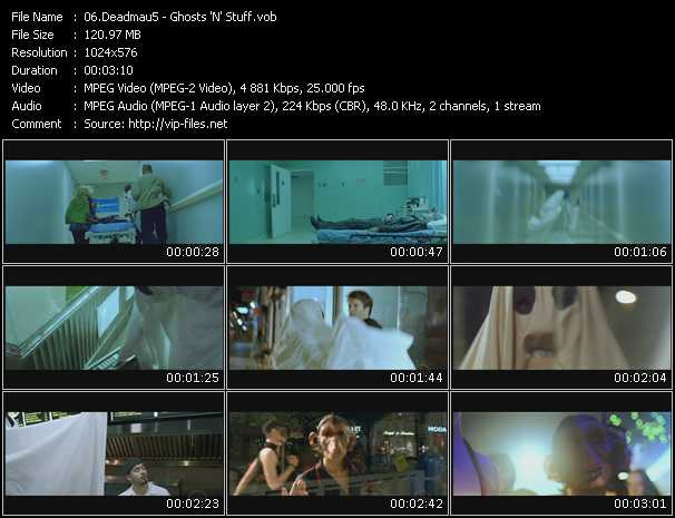 video Ghosts 'N' Stuff screen
