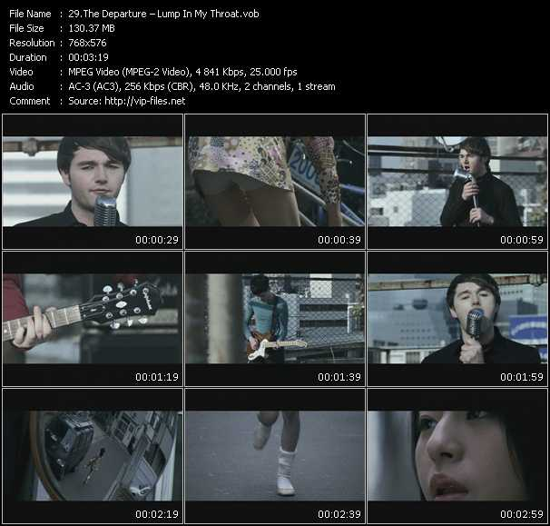 Departure video screenshot